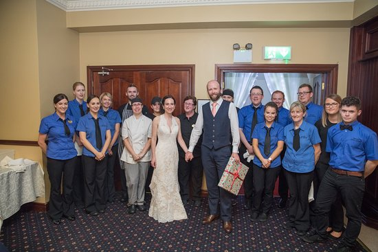 Gortahork, Ireland: Some of the wonderful Loch Altan staff who made our wedding so special!