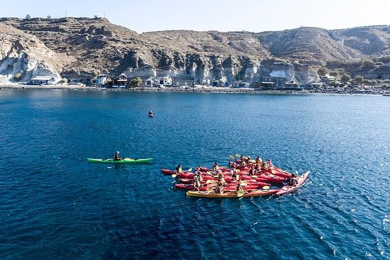 Santorini: Morning Sea Kayak Tour