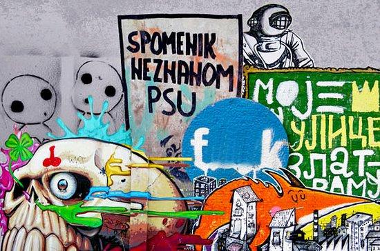 Visite de l'art de rue de Belgrade