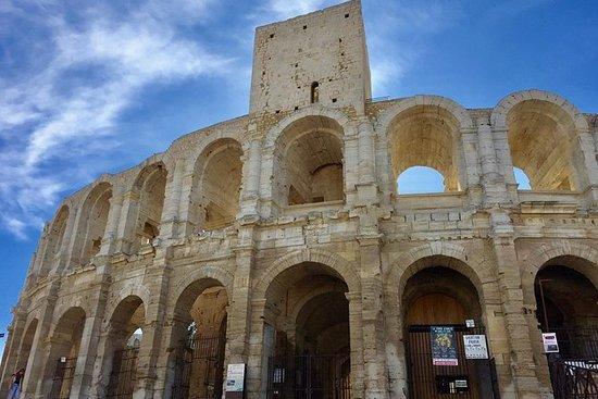 Les Baux de Provence, Arles & Pont du...