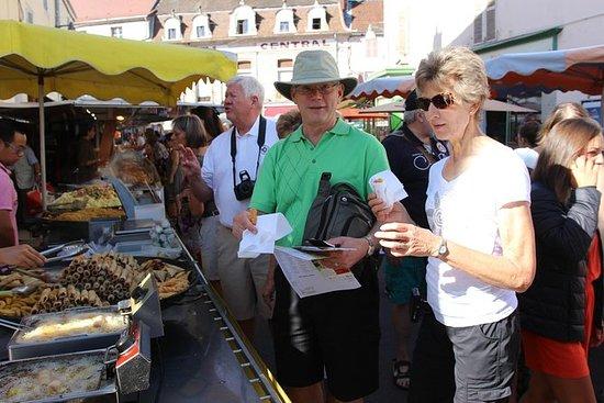 Bourgogne bønder marked, Chablis...