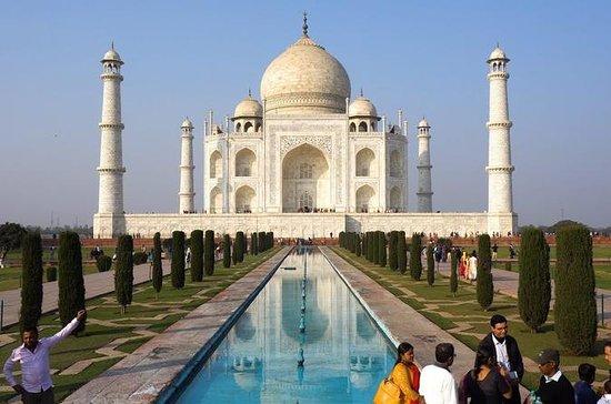 Excursão de dia do Taj Mahal e Agra...