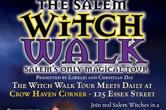 La caminata de la bruja de Salem