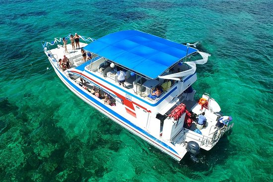 Small-Group Catamaran Snorkel with...