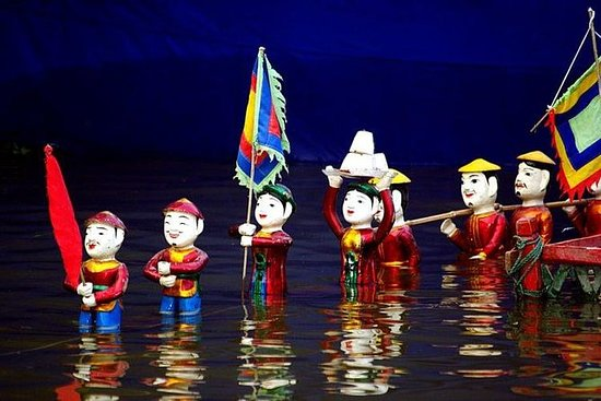 Water Puppet Show - Thang Long Water...