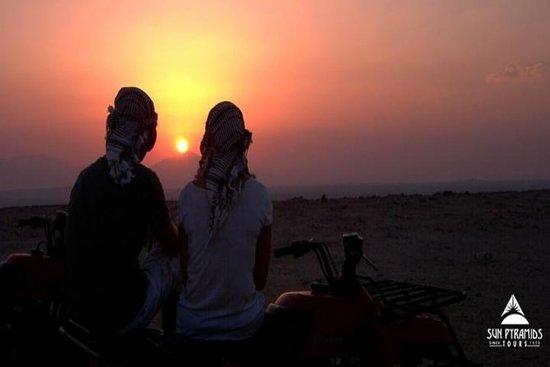 Sunset Desert Safari Trip By ATV Quad...