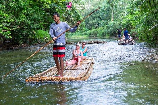Rafting en bambú y Khao Lak Safari