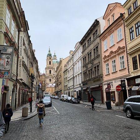 Lovely street along to Prague Castle.