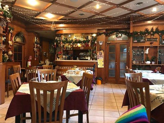 Vidiciatico, Italy: sala pranzo/cena/colazione