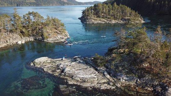 Garibaldi Highlands, Canada: Discovery Island Ocean Camp, Quadra Island, B.C.
