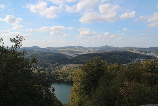 Schalkenmehren, Γερμανία: Vieuw from the Dronketurm