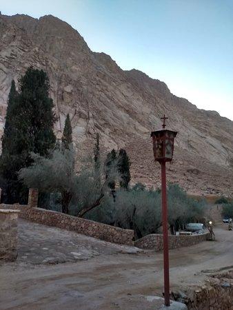 Monastery compound
