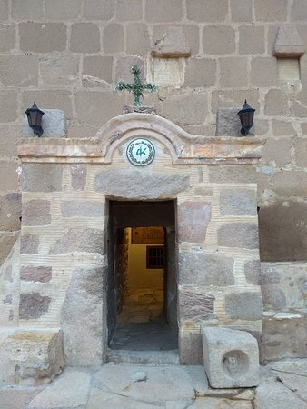 St. Catherine's Monastery Guesthouse: The fortress's entrance