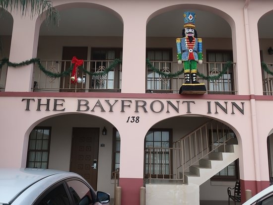 Bayfront Inn: You cannot miss this hotel.