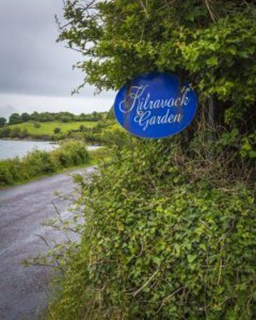 Durrus, Ireland: Difficult to find little sign