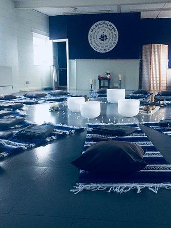 Soundbath at Preston Mandala yoga studio