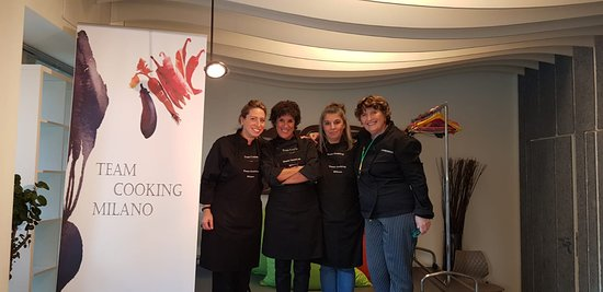 Team cooking Milan