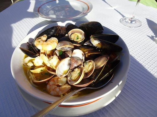 Restaurante O Batel: シーフードパスタ