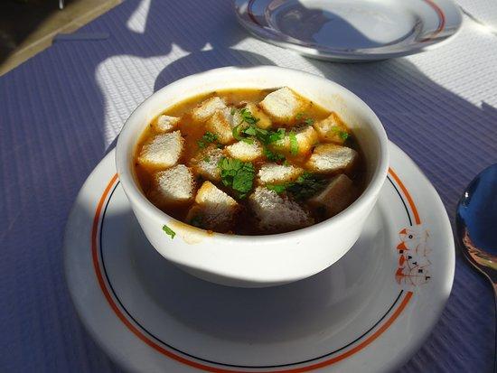 Restaurante O Batel: オリジナルスープ