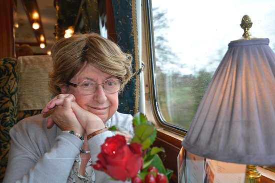West Midlands, UK: All aboard the Northern Belle, a private train that does day trips all over Britain, and offers an old-world style of service and gourmet meals.   We went from Conventry, up to Wales, and enjoyed a seven-course luncheon, during Christmas time.