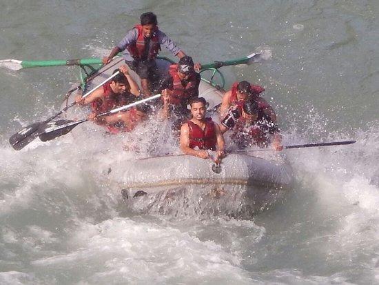 East Sikkim, Ấn Độ: Rafting in Teesta