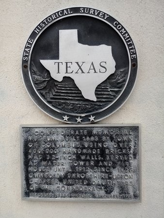 Confederate Memorial Museum: Memorial Sign