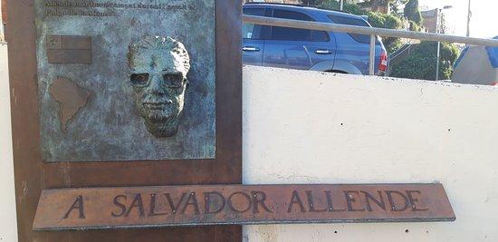 Placa de Salvador Allende