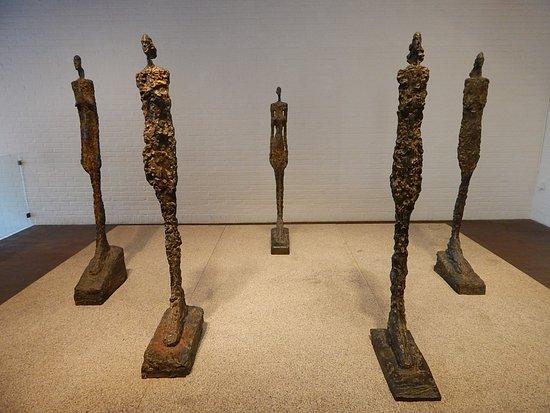 Humlebaek, Denmark: Giacometti.