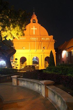 Christ Church: suasana malam hari..lebih sepi