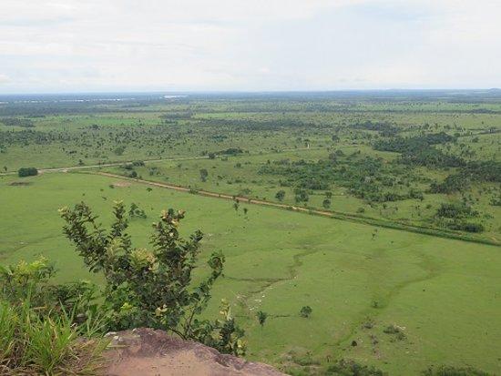 Guajará-Mirim, RO: Vista a partir do mirante onde vemos toda a planície de Guajará Mirim