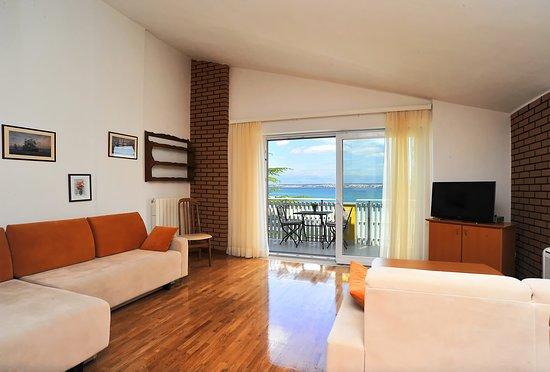 Preko, Κροατία: Living room