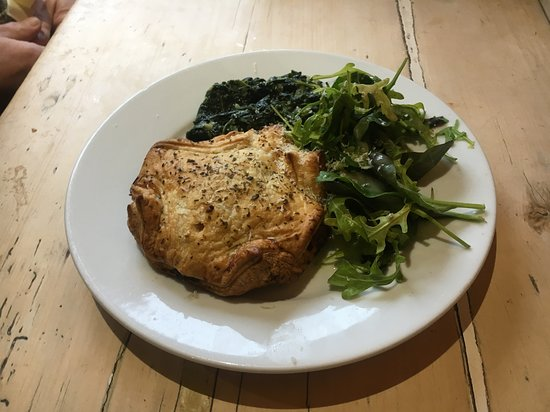 Broad Hinton, UK: The vegetarian wellington in all its wonder - simply delicious