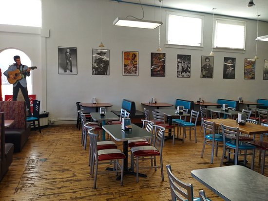 Roundup, MT: We have a large, well lit dining area, perfect for large gatherings and parties.