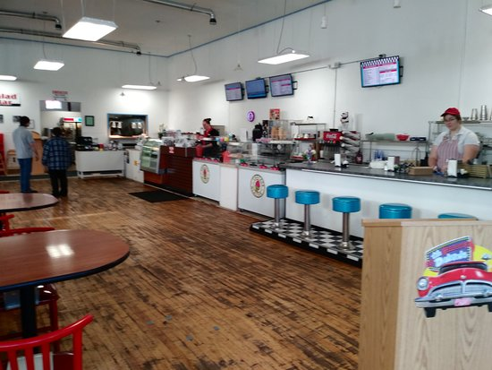Roundup, MT: We have seating at our lunch counter as well as our tables and booths.