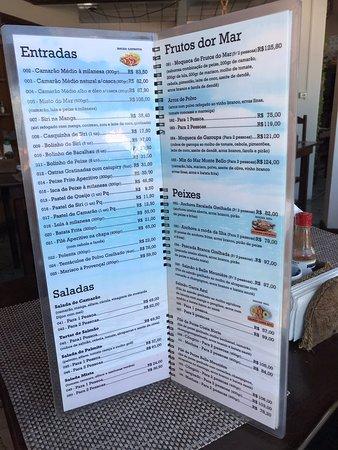 Ponta das Canas, SC: Restaurante Garra Azul