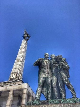 Amazing soviet monument