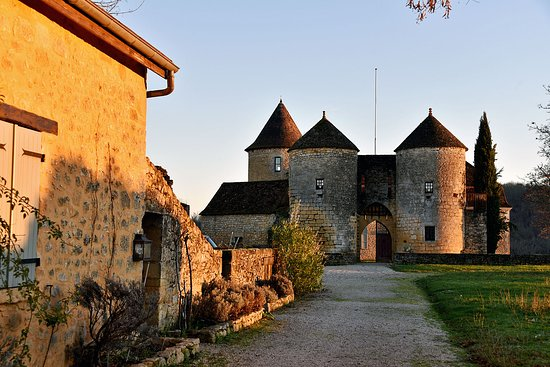 Milhac, France: Le château