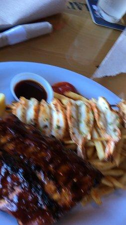 Bubba Gump Shrimp Co.: Shrimps and ribs