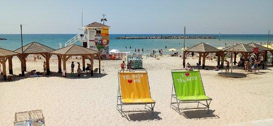 Tel Aviv District, อิสราเอล: tel Aviv beach