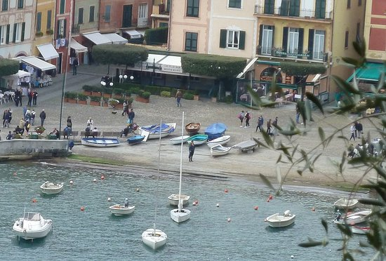 Free Beach of Portofino's Marina