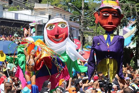 Carnaval-Tour durch die Rio 2019...