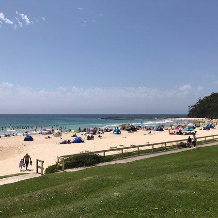 Mollymook, أستراليا: Mollymook Beach Surf School