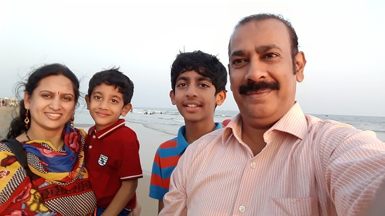 Haritha Beach Resort@Suryalanka Beach,Bapatla is Rocking ! Its Clean Beach,Refreshing Air,Serene Ambience , Scenic locales with Rushing Sea Waves hitting the shores in a Romantic Rhythm gave us loads of moments to relish Forever , ever and Ever !!!