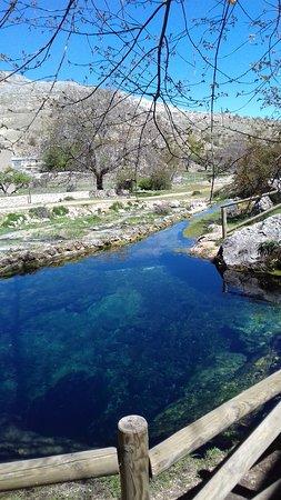 Santiago-Pontones, Испания: Nacimiento dei rio Segura.
