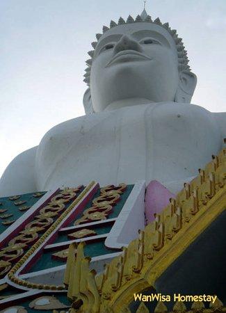 Non Sang, Thaïlande: Giant Buddha statue at Wat Phra Baht (temple) @ Ubonrat (<24 km from WanWisa Homestay)