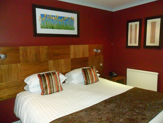 Marley Hill, UK: our room