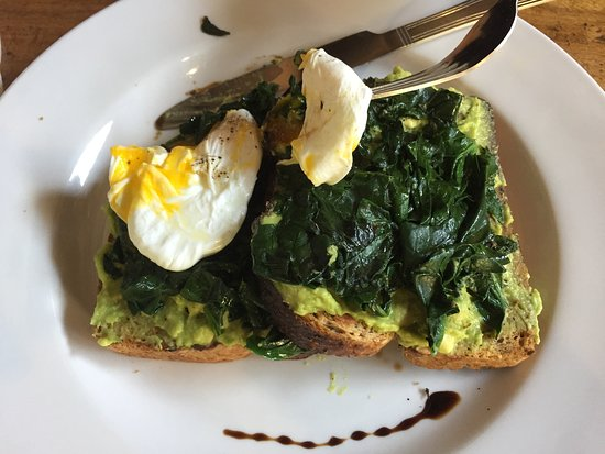 Avocado Toast with perfectly poached egg