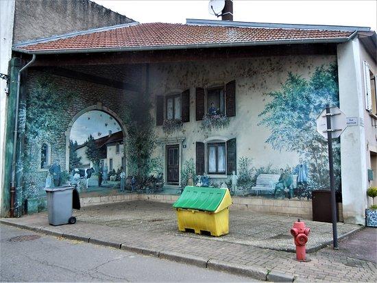 Fresque Cour de Ferme