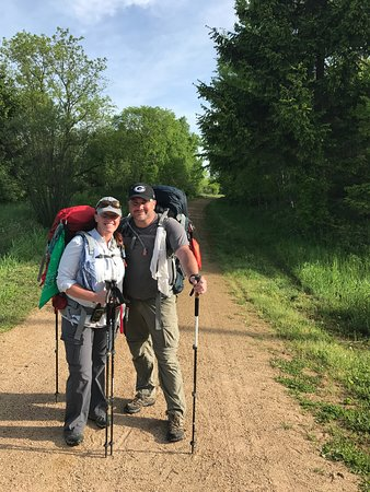 We welcome and support anyone hiking the Ice Age Trail - one of seven National Scenic Hiking Trails in America. Cafe Wren is so fortunate to have this incredible 1,000 mile foot path pass right behind the cafe!