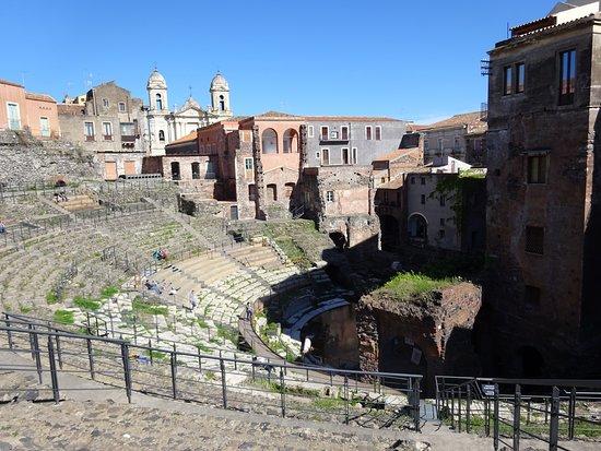 Parco Archeologico Greco Romano di Catania: Greek-roman theatre of Catania